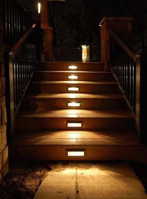 Patio Step Lights 30 Astonishing Step Lighting Ideas For Outdoor Space Architecture Design
