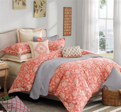 coral colored comforter set 25 best ideas about coral and turquoise bedding on