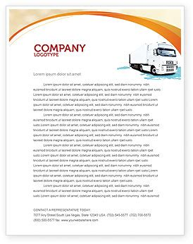 trucking company letterhead templates truck tractor letterhead template layout for microsoft