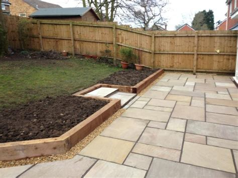 Installing Sleepers by Mpr Landscaping Garden Design Gallery Photos Images