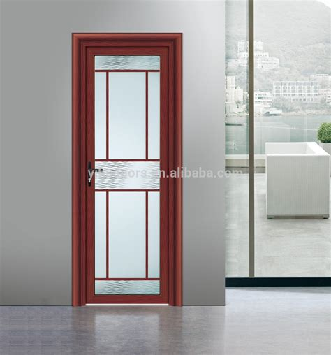 Modern Frosted Glass Interior Doors Modern Interior Frosted Glass Bathroom Door Aluminium Door For Interior Buy High Quality