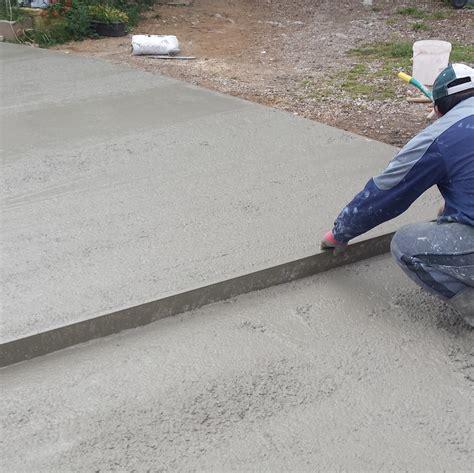 Chape De Beton 4573 chape de beton patio salle de lecture coulage de la chape