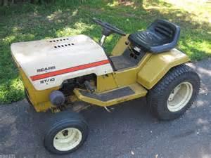 vintage 1977 sears st 10 lawn garden tractor 10hp briggs