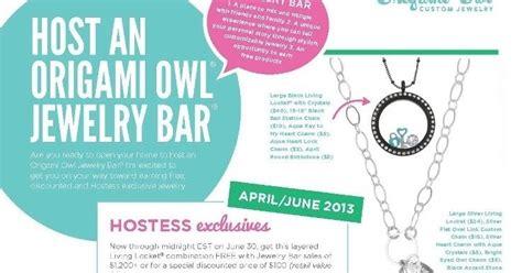 Origami Owl Hostess Special - sweet southern owls hostess program