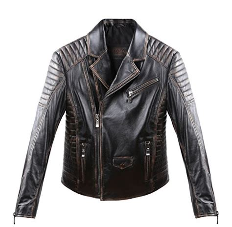 leather motorcycle jacket brands men classic caf 233 racer style leather motorcycle jacket