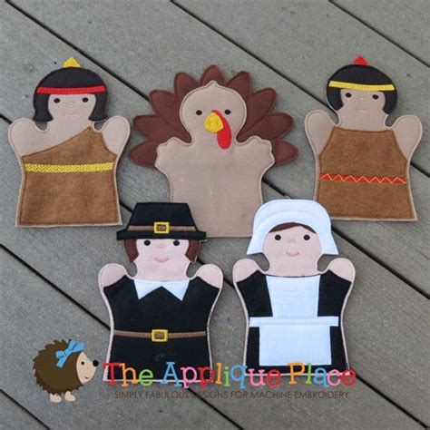 17 Best Images About Embroidery Pdf Patterns I Own On Pinterest Appliques 4x4 And Wine Tags Thanksgiving Finger Puppet Templates