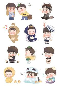 chanyeol tattoo sticker image result for cqdoqslukaacy0x png 600 215 1000 pics