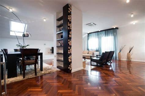 pavimento cotto arredamento moderno soggiorno pavimento scuro idee per il design della casa