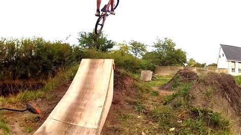 backyard bmx dirt jumps bmx backyard dirt jumps youtube