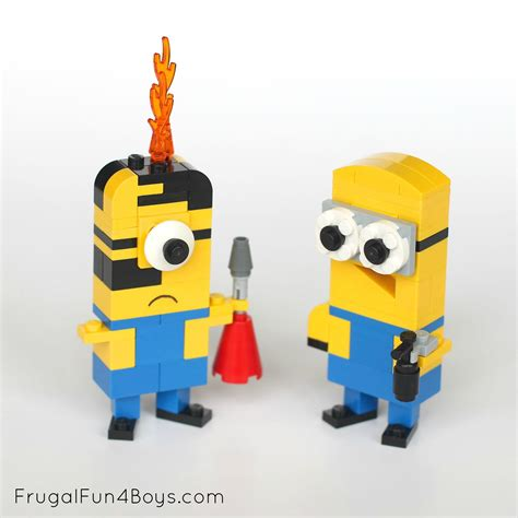 Lego Minions Building Instructions   Frugal Fun For Boys
