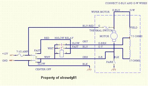 wiring diagram lucas wiper motor images wiring diagram