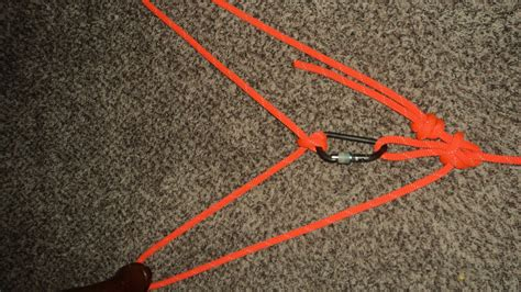 Hitch Knot - loop bowline with a aft facing bight and clove