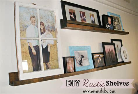 Diy Wall Shelf by Easy Diy Rustic Shelves A S Take