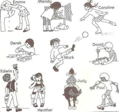 inglese test exercises present progressive teaching