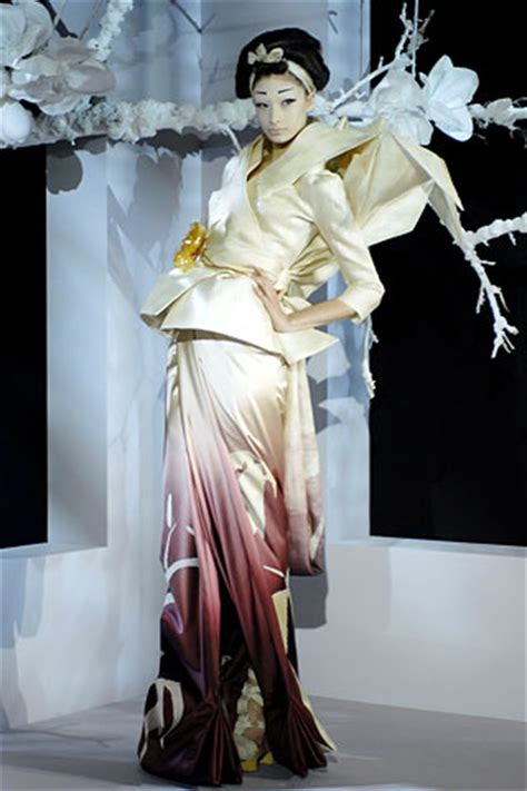 Show Report Haute Couture Ss 07 Christian by Vanityfair It