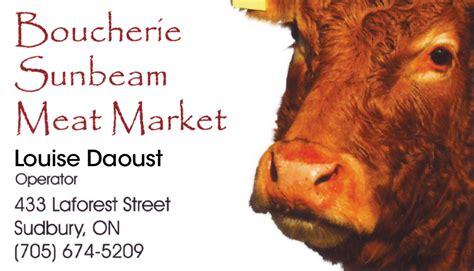 Louise Is Back On The Market by Boucherie Sunbeam Market Sudbury On Butcher Shop