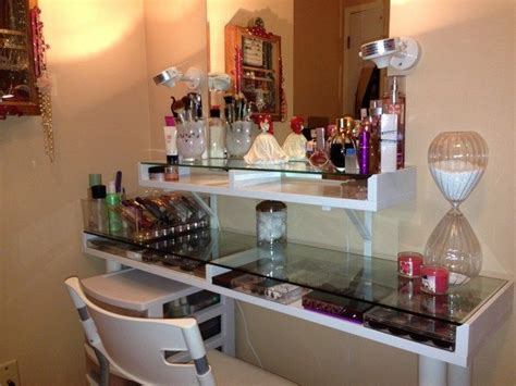Space Saving Bathroom Vanities Mirrored Makeup Storage Is A Stylish Way To Unclutter The