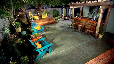 diy backyard makeover contest bath crashers host backyard who pays decorations makeover