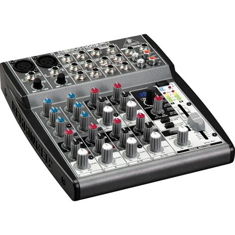 Mixer Audio Behringer 6 Channel behringer xenyx 1002fx 10 channel audio mixer 1002fx b h photo