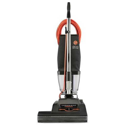 hoover conquest  upright vacuum  dirt cup
