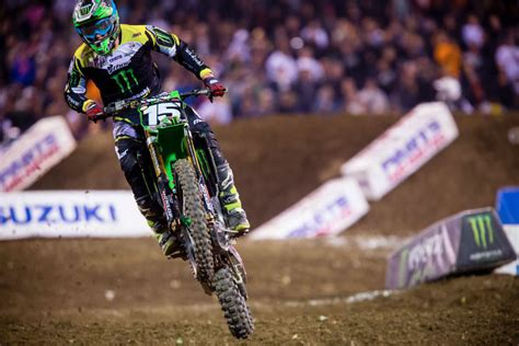 2014 ama motocross results 2014 ama supercross anaheim 3 results motorcycle com news