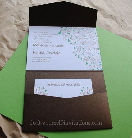 Wedding Invitations Pocket Personalized Vip Card by Best 25 Invitation Templates Ideas On Baby