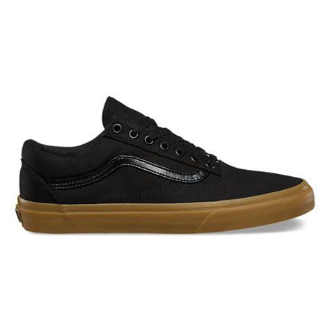 Vans Oldskool Black Gums canvas gum skool shop shoes at vans