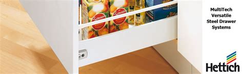 Multitech Drawer by Drawer Systems Multitech Single Wall Steel Drawer Height