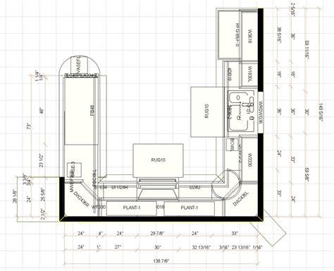 Rigid kitchen floor plans fr modern home with corner kitchen cabinet viahouse com
