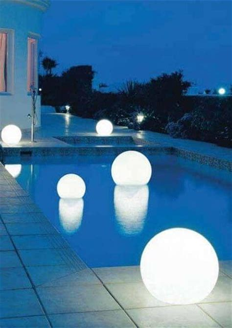 outdoor pool lighting backyard lighting ideas pictures