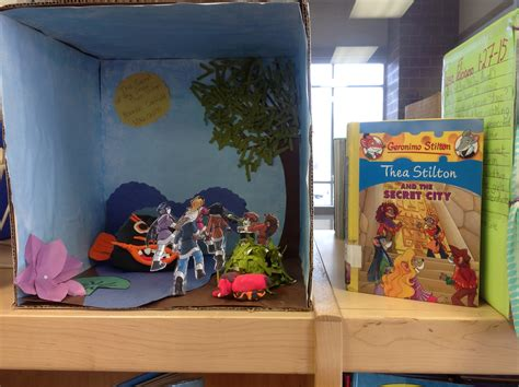 Book Report Diorama by 4th Grade Book Report Dioramas Pictures To Pin On