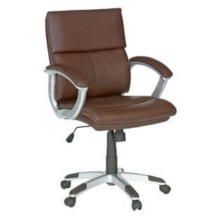 black swivel chair argos buy rochester mid back office chair brown at argos co uk