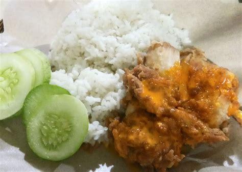 ayam geprek pangeran antapani bandung lengkap menu