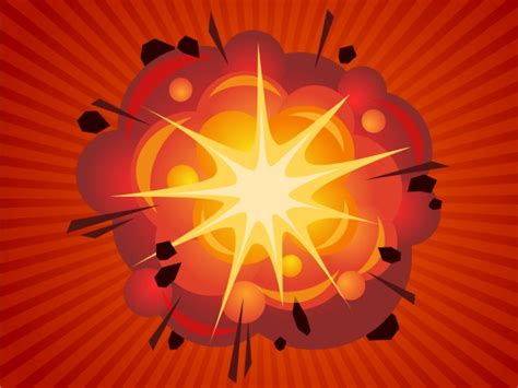 Vector Explosion Tutorial | quick tip how to create a cartoon style big bang