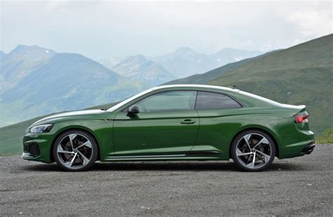 New Audi Rs5 2018 by 2018 Audi Rs 5 Drive Review Green With Page 3