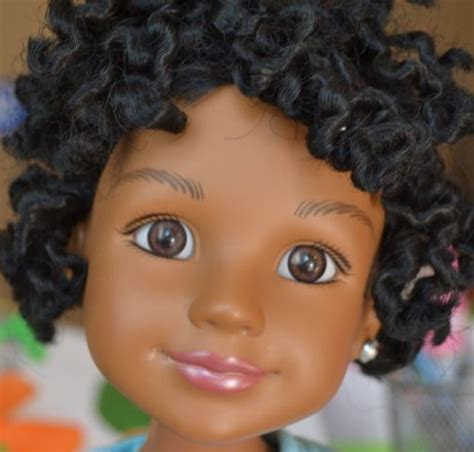 in black 2 doll i didn t laugh at the of white getting black dolls