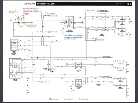 2002 jaguar x type headlight wiring diagram wiring