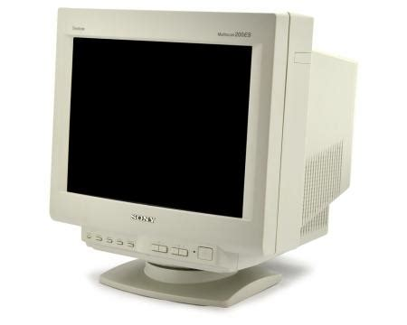 """sony cpd 200es new 17"""" crt monitor"""