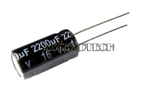 electrolytic capacitors vent 2200uf 16v 40 176 105 176 c 20mmx10mm radial aluminum electrolytic capacitor vent usa ebay