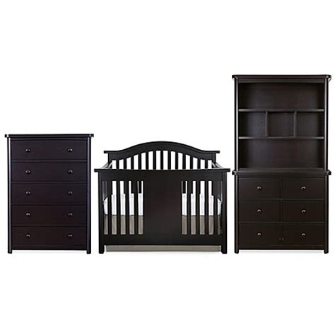 Baby Appleseed Stratford Crib Baby Appleseed 174 Stratford Nursery Furniture Collection In Espresso Www Bedbathandbeyond