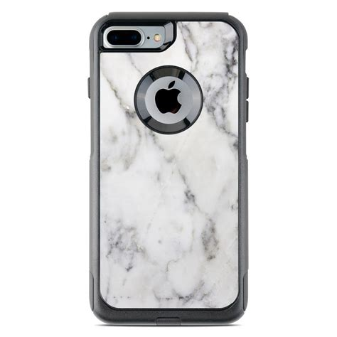 otterbox commuter iphone   case skin white marble