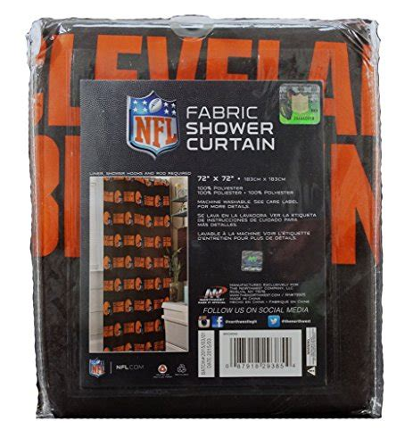 cleveland browns shower curtain browns shower curtains cleveland browns shower curtain