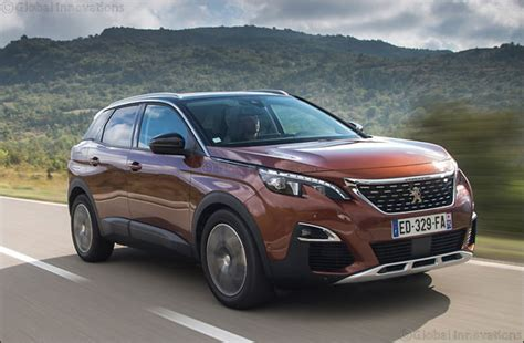 peugeot dubai peugeot 3008 suv named car of the year 2017