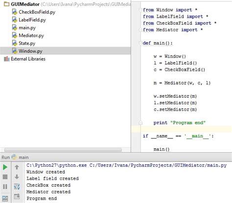 python pattern matching stack overflow python mediator pattern memory leak stack overflow
