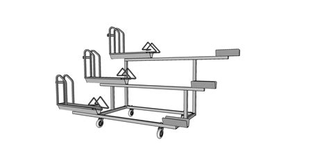 Rudy Rack by Casters Rudy Rack