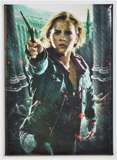 harry potter hermione granger fridge magnet deathly
