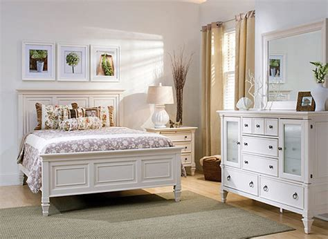 somerset  pc king bedroom set alabaster raymour flanigan