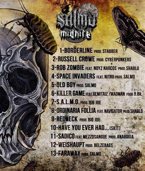 salmo weishaupt testo cover tracklist salmo midnite mondo rap