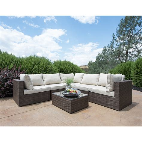 lowes sectional patio furniture outdoor sectional sofa lowes wood outdoor sectional