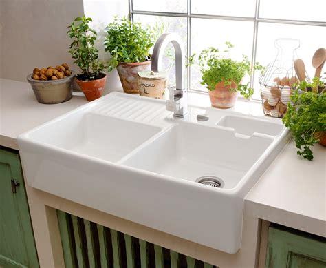 lavelli cucina in ceramica lavelli e rubinetti zona lavaggio in evoluzione cose di